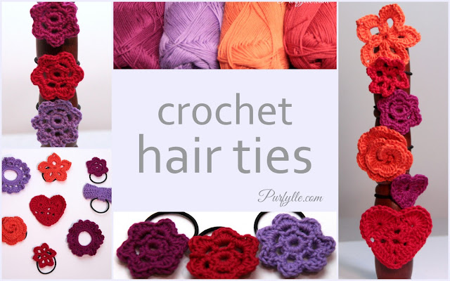 crochet hair ties