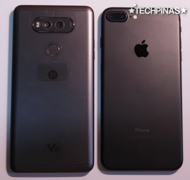 LG V20 vs Apple iPhone 7 Plus