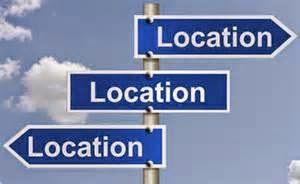 Pilih lokasi yang tepat
