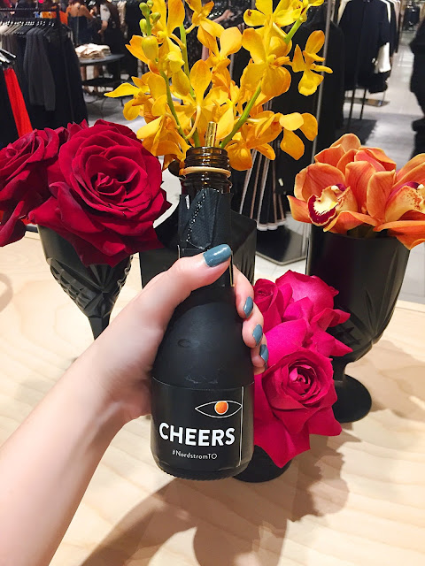 Nordstrom Toronto Eaton Center Yorkdale Drinks Floral Food