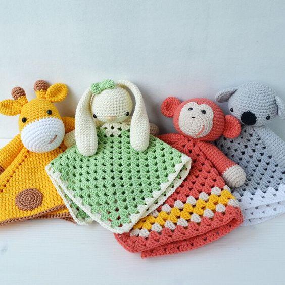 Preciosas ideas de crochet para niños. ¿Te animas? | Manualidades ... | 564x564