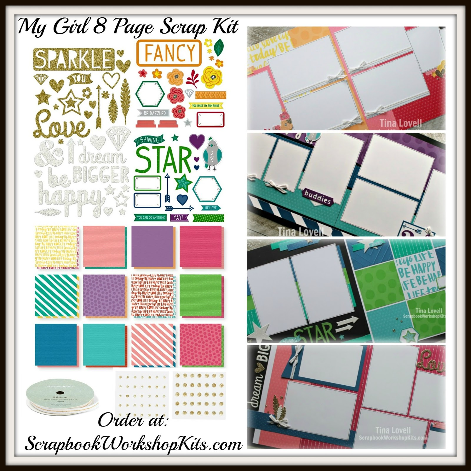 How to scrapbook faster - Cost 32 Sh