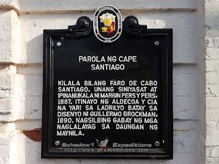Cape Santiago Lighthouse Historical Marker - Schadow1 Expeditions