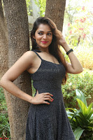 Aswini in lovely Deep Neck Sleeveless Black Dress Spicy Pics ~  Exclusive 23.JPG