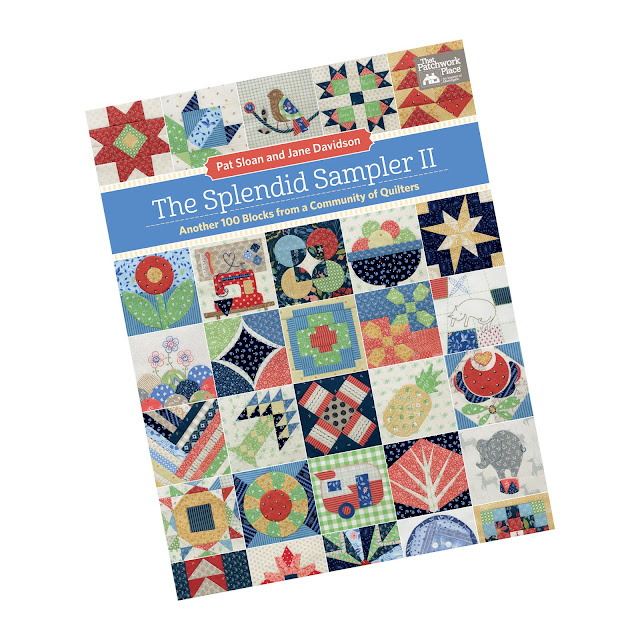 The Splendid Sampler 2 book and quilt along