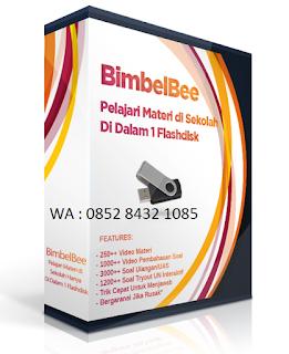 Lulus prestasi tinggi dg Bimbelbee multimedia pustaka lebah