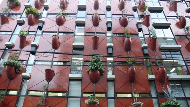 edificio organico osaka
