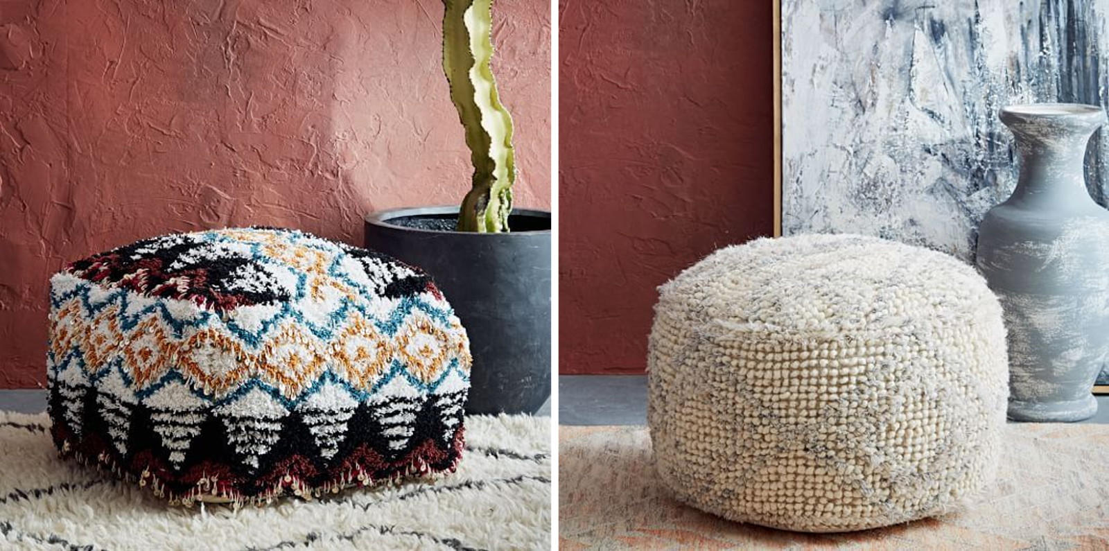 West Elm Pouf Elegant Or With West Elm Pouf Excellent Cleverly