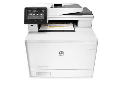 fdn Multifunction Color Laser Printer amongst Built HP LaserJet Pro M477fdn Driver Downloads