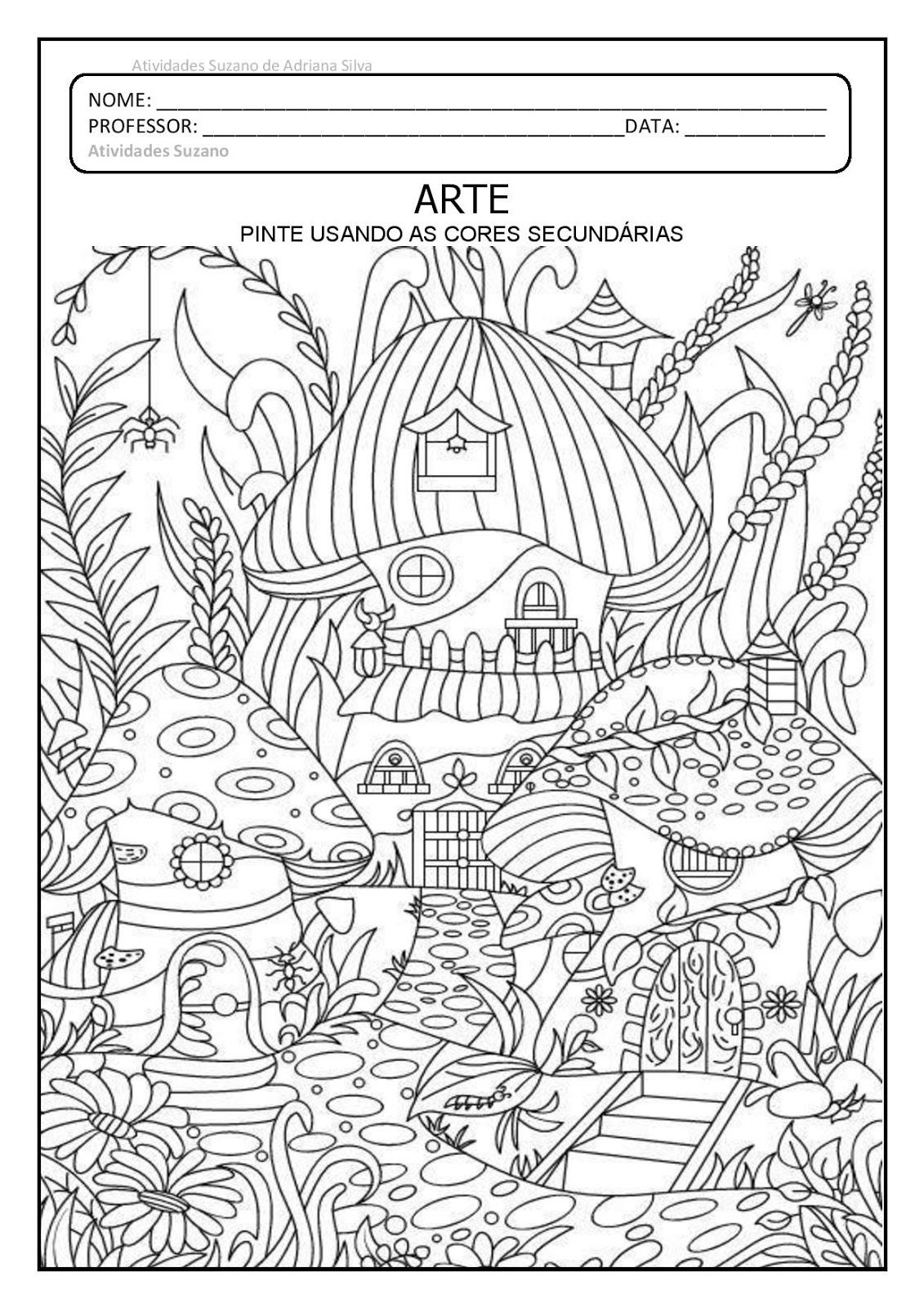 Atividades Pedagogica Suzano Arte Atividades De Artes Visuais
