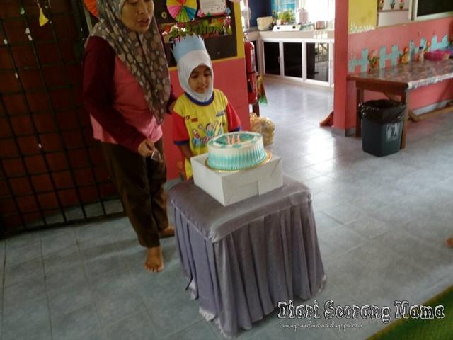 Sambutan Hari Lahir Aisy di Tabika KEMAS