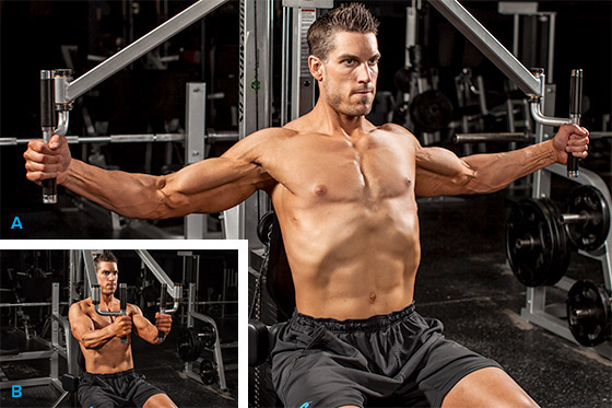 Best Chest Exercises of All Time - 30 Exercise - Pec Deck