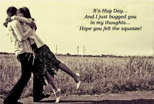 Happy Hug Day 2015 wallpaper