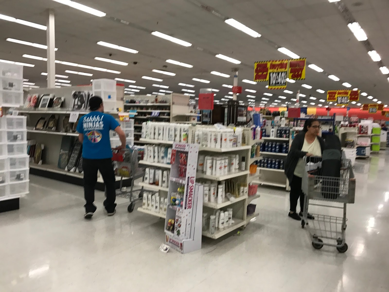Retail stores for Kmart shirts for employees