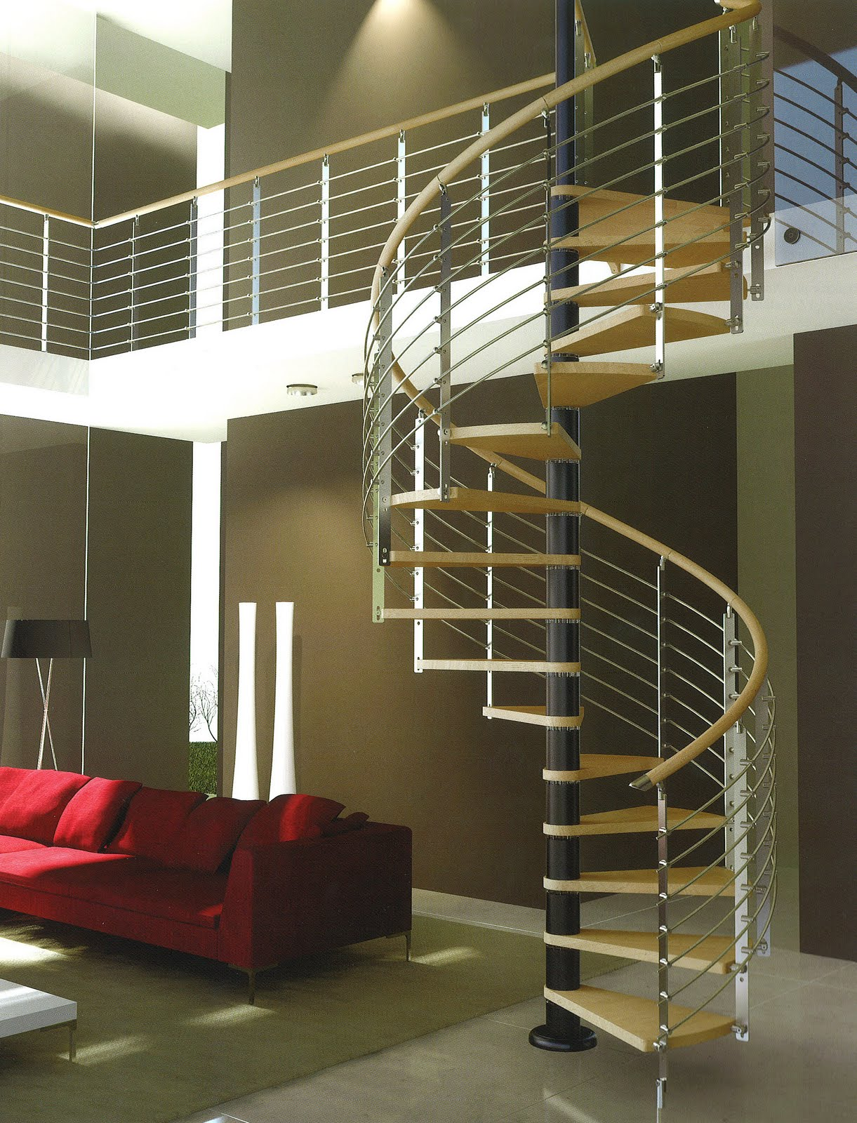 Interior Design Stairs: TRIO, Rintal (Italia)