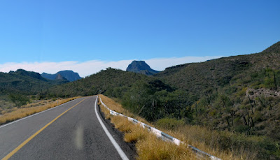 Drive up the Sierra la Giganta