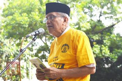 Kerisauan Taufiq Ismail atas Kondisi Bangsa Indonesia Saat ini