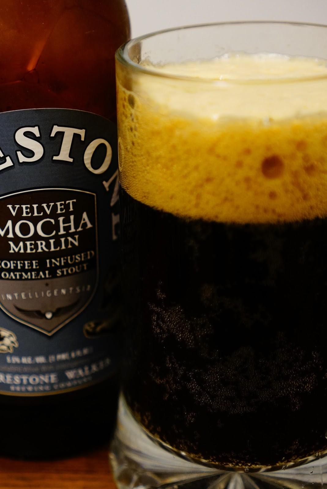 Firestone Walker Velvet Mocha Merlin, full pour