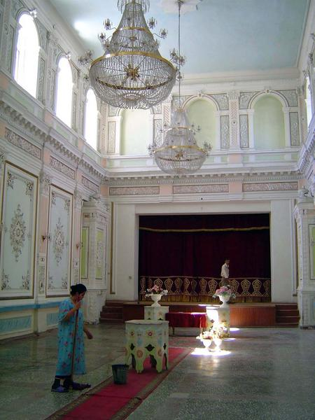uzbekistan bukhara kagan palace, uzbekistan art textile tours, uzbekistan small group tours