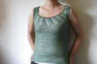 lace top knitting pattern