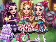 Play the best free online girl games, enjoy Ever After High Tea Party and all Ever After High games only on GamesGirlGames.com. Whether you're a royal or rebel, finding your ever after can always be discussed over a nice cup of tea. Join Apple White, Raven Queen and Madeline Hatter in the Wonderland Grove for a tea-rrific party where wonders are waiting to be discovered.