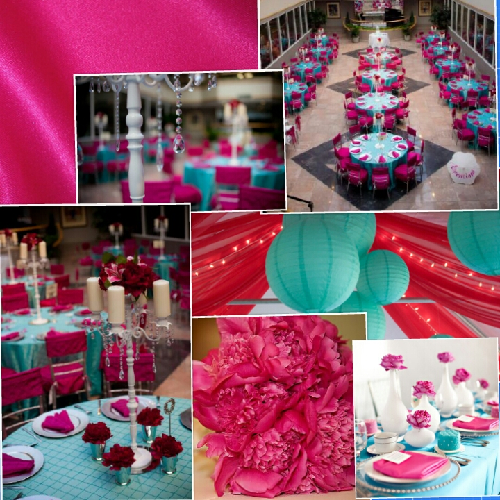 Turquoise Fuchsia Wedding: Anybody Doing Fuschia And Turquoise?
