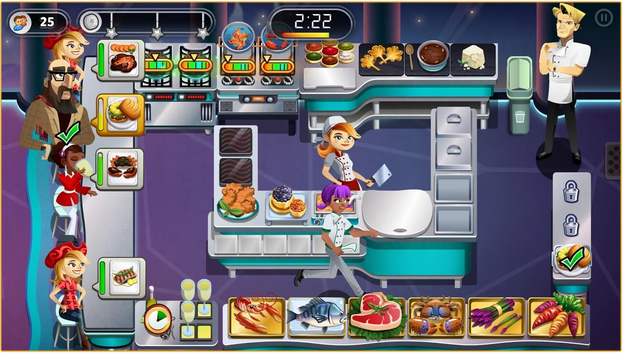 Download Game Gordon Ramsay Dash V1.8.9 Hack MOD Apk Terbaru