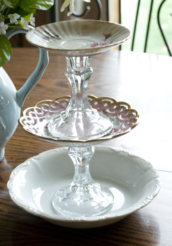 Diy Vintage Jewelry Dish Tutorial Vintage Romance Style