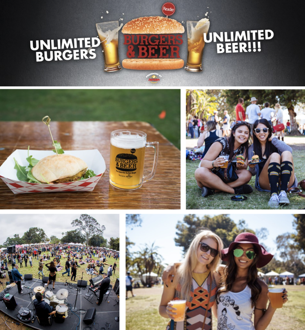 Save on passes & Enter to win VIP tickets to the San Diego Burgers & Beer Festival - September 7!