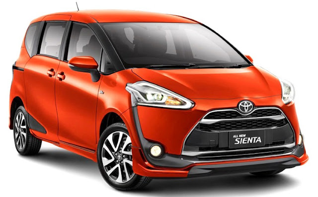 Model Kereta Paling Popular Di Malaysia 2016 - Toyota Sienta