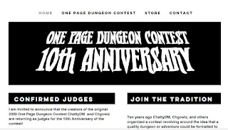 Notes From Under the Kyak: One Page Dungeon Reviews