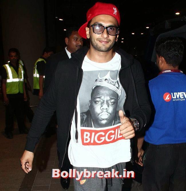 Ranveer Singh, Elli, Deepika, Kangana Arrive Back From IIFA