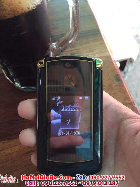 www.123nhanh.com: bán điện thoại nắp gập motorola v8 !!!!