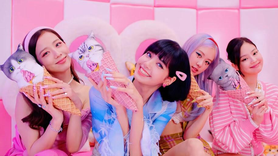 BLACKPINK, Ice Cream, K-pop, 4K, #7.2618 Wallpaper