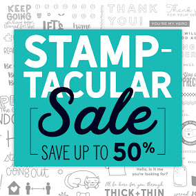 APRIL STAMPTACULAR SALE