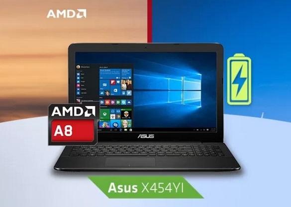 Harga Laptop Asus AMD A8 Tahun 2017 Lengkap Dengan Seri Dan Spesifikasi