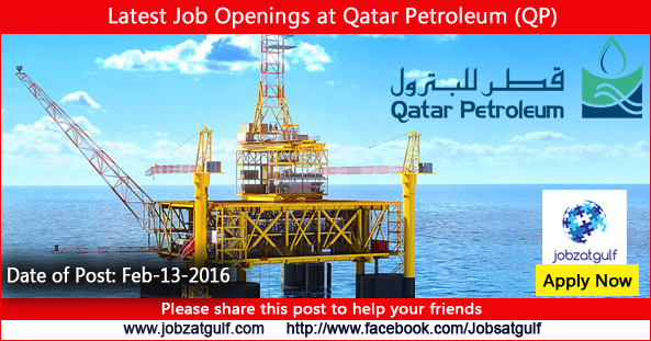 Latest Job Openings at Qatar Petroleum (QP) - Jobzatgulf com