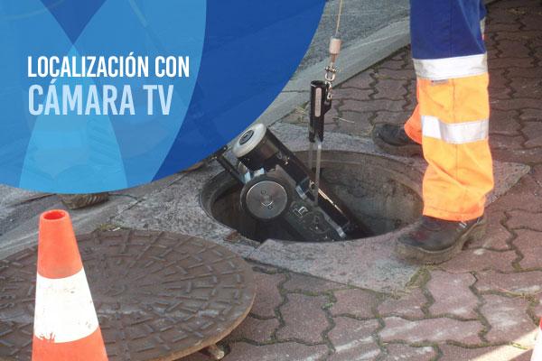 Inspección de fugas de agua con cámara de TV