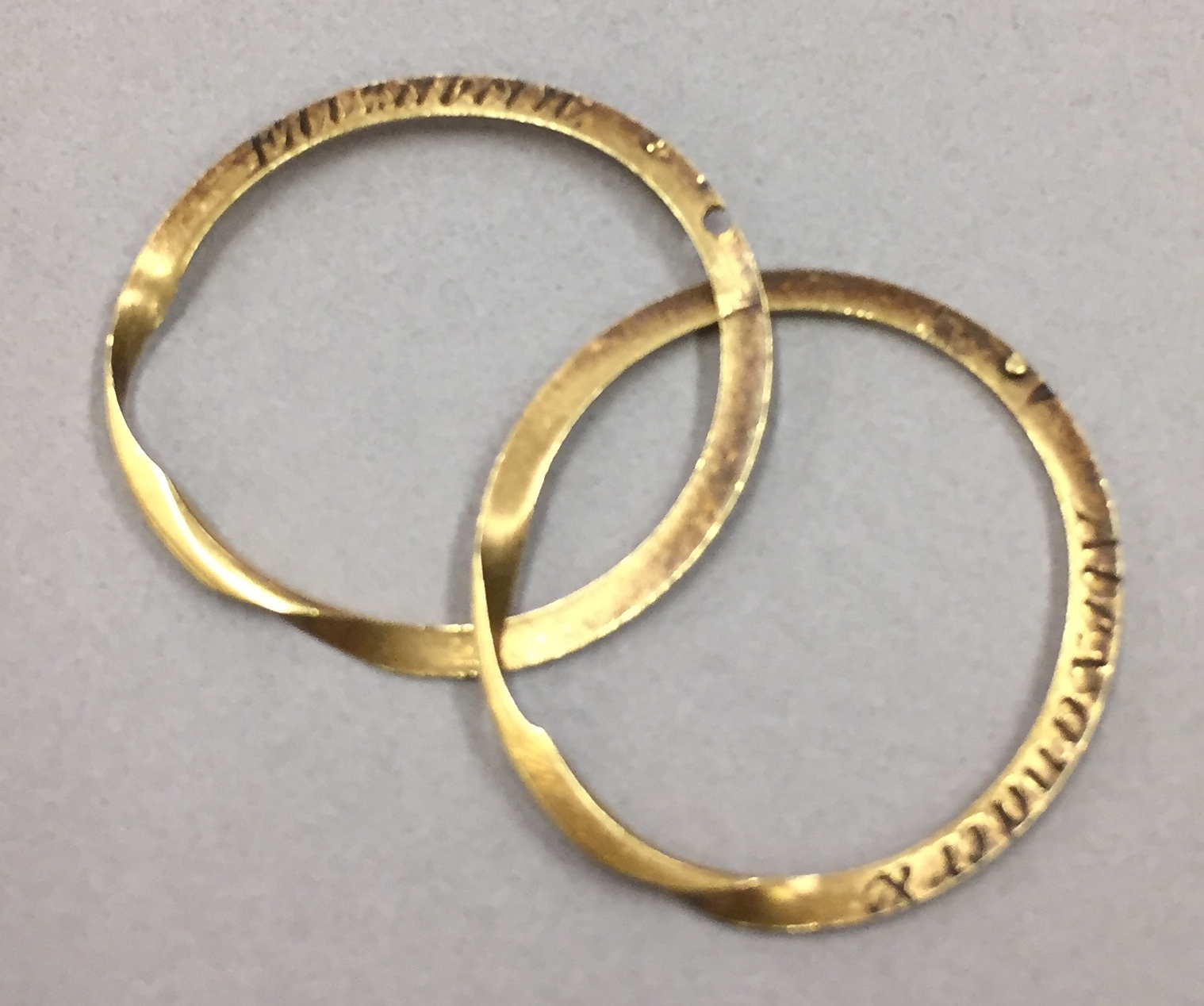 The Wedding Ring That Alexander Hamilton Gave To Elizabeth Schuyler, 1780