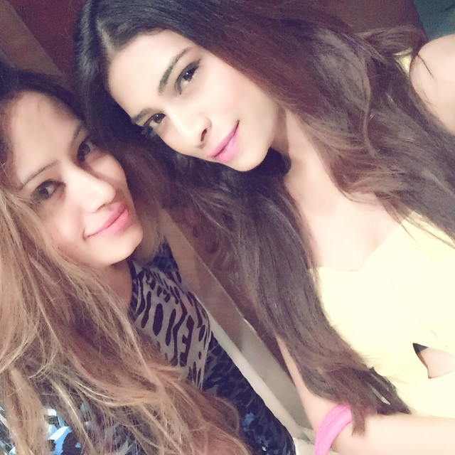 one more with this pretty lady 😎😍, Rina Charaniya Selfie Photo gallery 2015