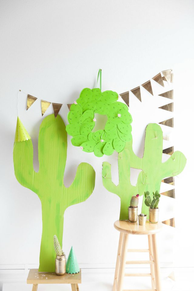 Such a cute cactus themed baby shower!