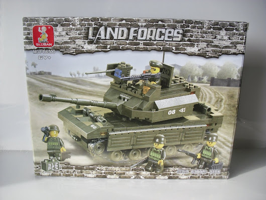 review : SLUBAN land forces - B6500 main battle tank M38