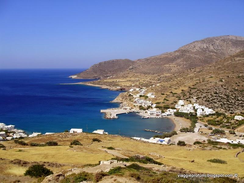 Sikinos, il porto di Alopronia