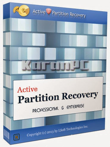 Active Partition Recovery Professional 11.1.0 + Crack