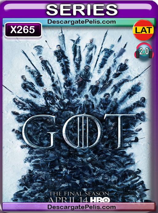 Game of Thrones (2019) Temporada 8 1080P X265 Latino – Ingles