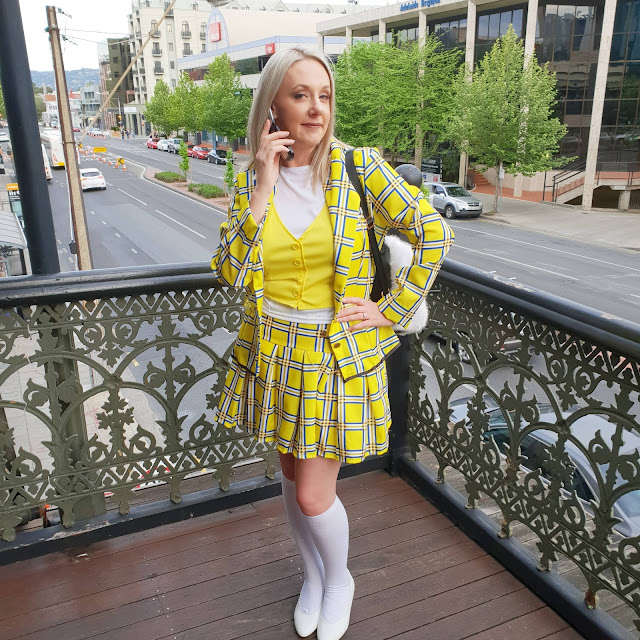 90s theme Cher Clueless costume | Almost Posh