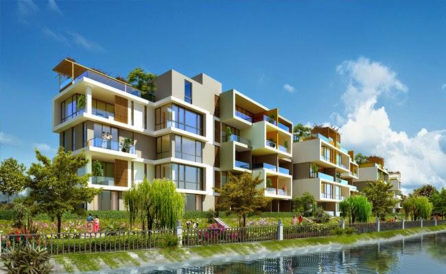 Phối cảnh Sky Villas dự án Jamona City quận 7