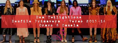 Dea'TwilightZone - desfile Cravo e Canela
