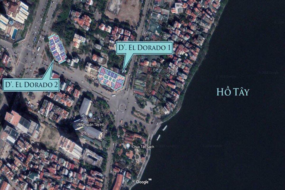 Vị trí dự án D'. El Dorado Phú Thanh