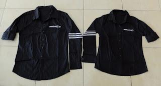 Jual Online Strip Line Black Murah Jakarta Bahan Katun Stretch Terbaru.